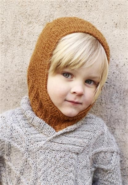 1410: Modell 3 Lue #alpakka #strikk #knit