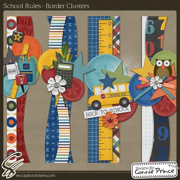 school embelishments scrapbook ideas - Google Search