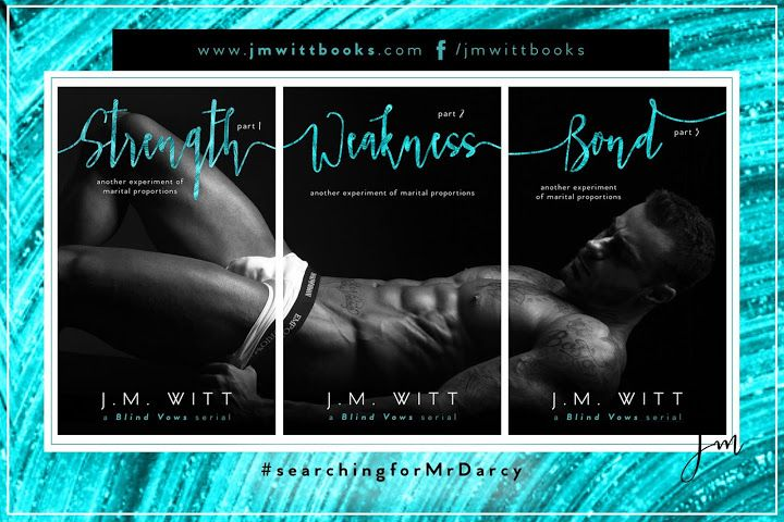 Book-o-Craze: Series Tour -- Blind Vows series by J.M. Witt