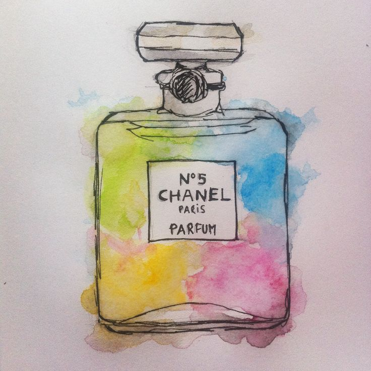 Chanel N. 5 illustration by Susie Creativa