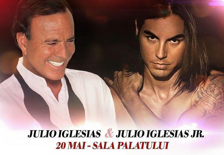 JULIO IGLESIAS & JULIO IGLESIAS JR IN ROMANIA