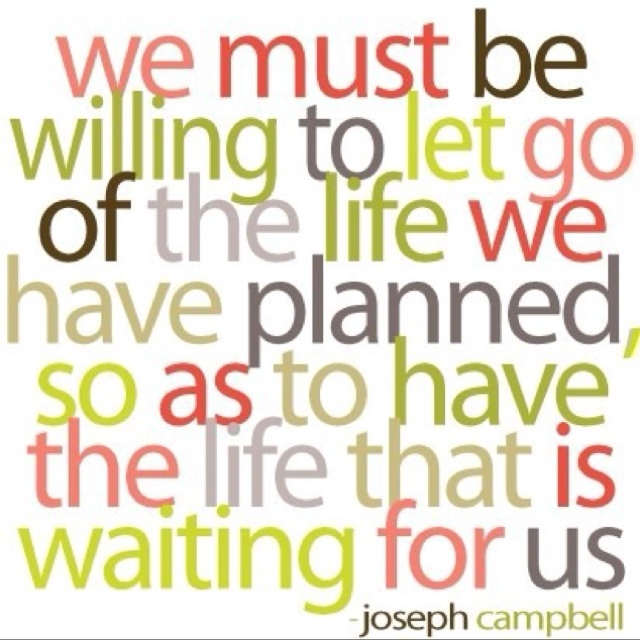Words to live by.God Plans, Remember This, Life Lessons, The Plans, So True, Joseph Campbell, Inspiration Quotes, Lets Go, True Stories