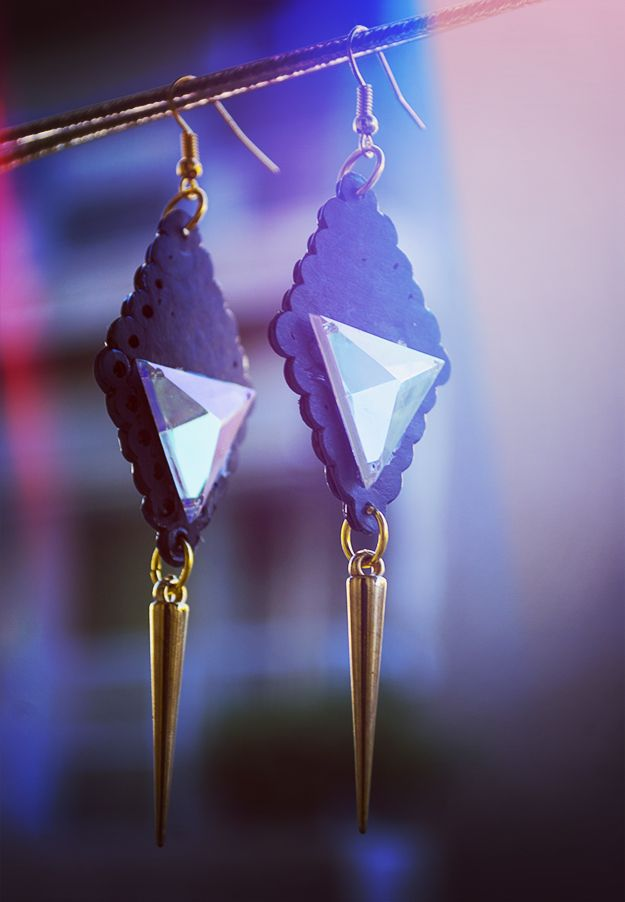 Dark Spirit Earrings