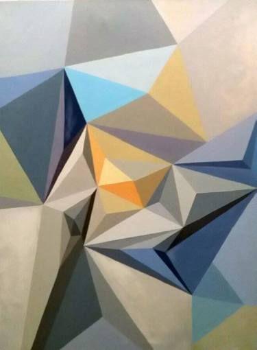 """Saatchi Art Artist Malvina - Carola Liuba; Painting, """"Scarred Letters 7"""" #art"""