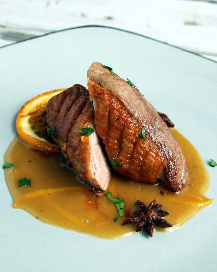 Keto Seared Duck Breast with Orange Sauce Recipe #keto https://ketosummit.com/keto-duck-breast-orange-sauce-recipe