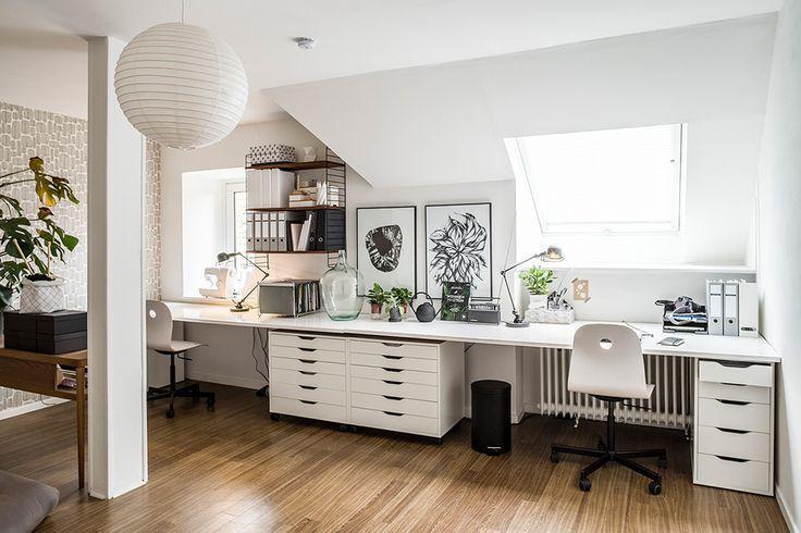 Wohnen in Schwarz-Weiß: Karina Kaliwoda richtet Räume stilsicher ein