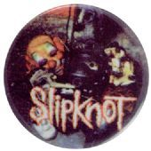 Slipknot - 'Clown Mask' Button Badge