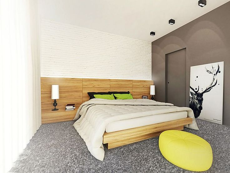 Część nocną stanowią cztery sypialnie, w tym jedna z własną łazienką i garderobą.