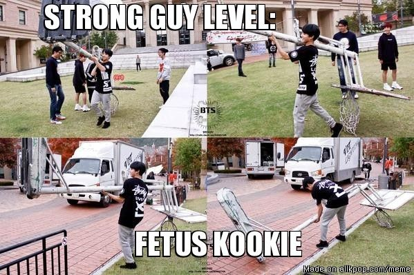 Golden maknae can do it all #BTS #Jungkook | allkpop Meme Center