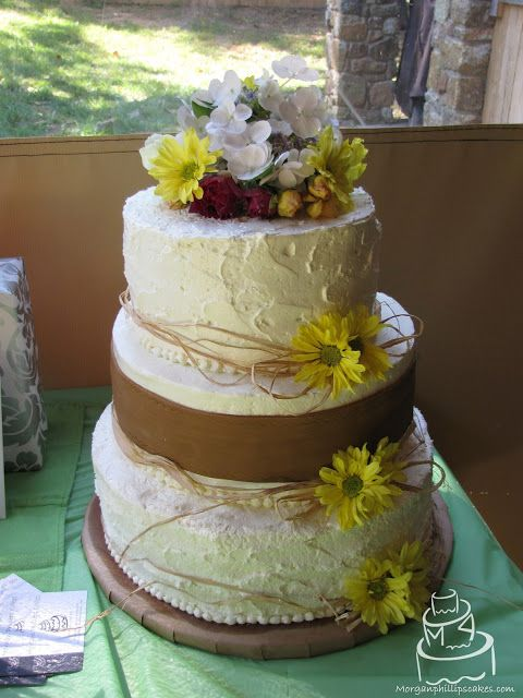 Wedding Cake Ideas For Country Wedding : Country Wedding Cake Morgan Phillips Cakes: Wedding ...