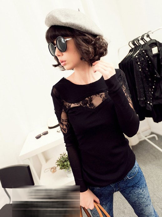 Blouse BL1620-Black