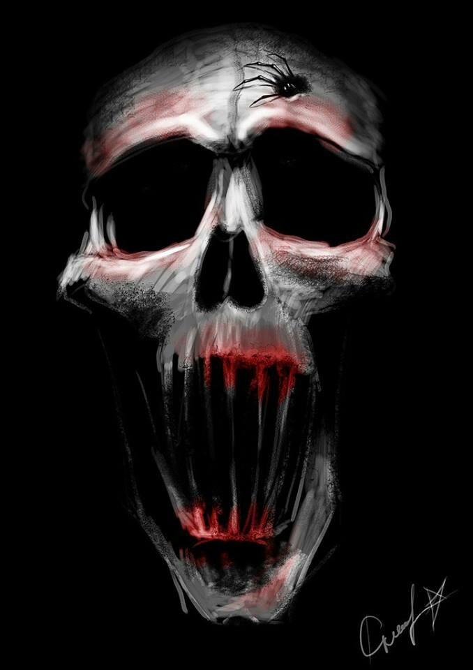 124 best skulls images on pinterest | skull art, grim reaper and