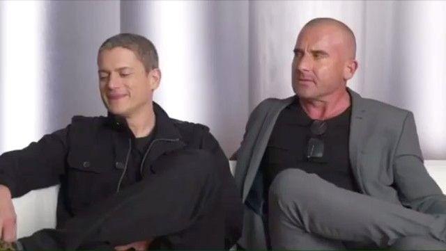 Wentworth:  Do que você sente  falta? Dom: do dinheiro!  Wentworth: Eu sinto saudade do Michael e do elenco..