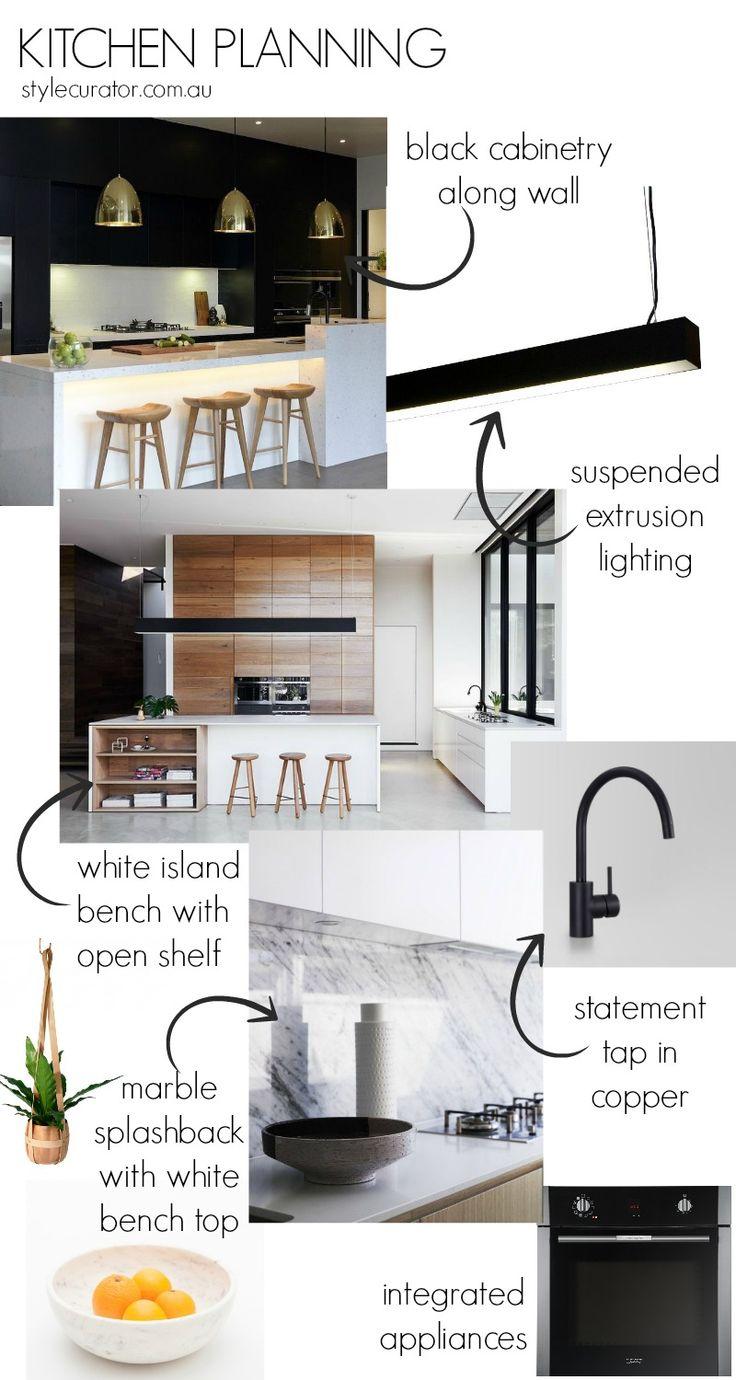 Kitchen Planning L Contemporary Kitchen Inspiration