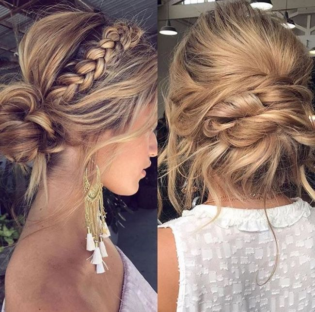 Mariage Coiffure In 2018 Pinterest Wedding Hairstyles Hairdo Wedding And Bridesmaid Hair Hairdo Wedding Bridesmaid Hair Short Hair Styles