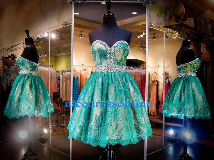 Corset Dress 2015 Emerald Homecoming Dresses Real Pictures Sweetheart Neck Beaded Lace Sweet 16 Dresses Short Backless Vestido De Festa Curto Special Occasion Dresses From Nicedressonline, $150.79| Dhgate.Com