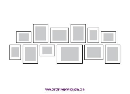 Picture frame arrangements