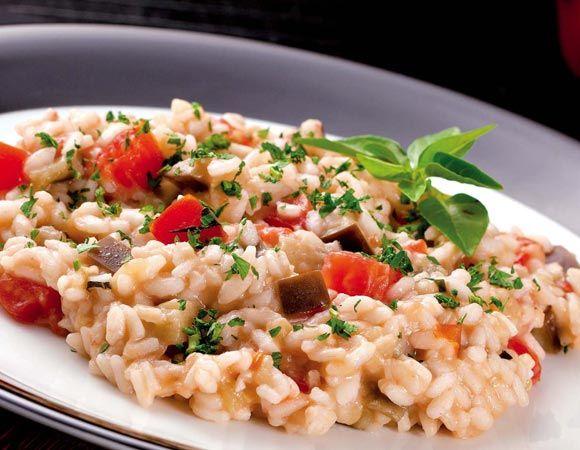 Receita de risoto de quinoa com cogumelos Receitas Light