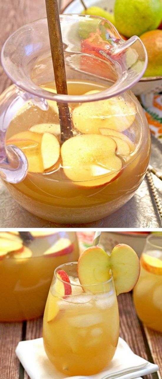 Apple Pie Punch | This is so delicious and refreshing. Perfect drink for Thanksgiving!