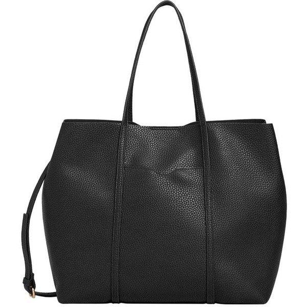 MANGO Pebbled shopper bag ($40) ❤ liked on Polyvore featuring bags, handbags, tote bags, metallic tote, pocket tote bag, zipper handbags, metallic handbags and mango handbags