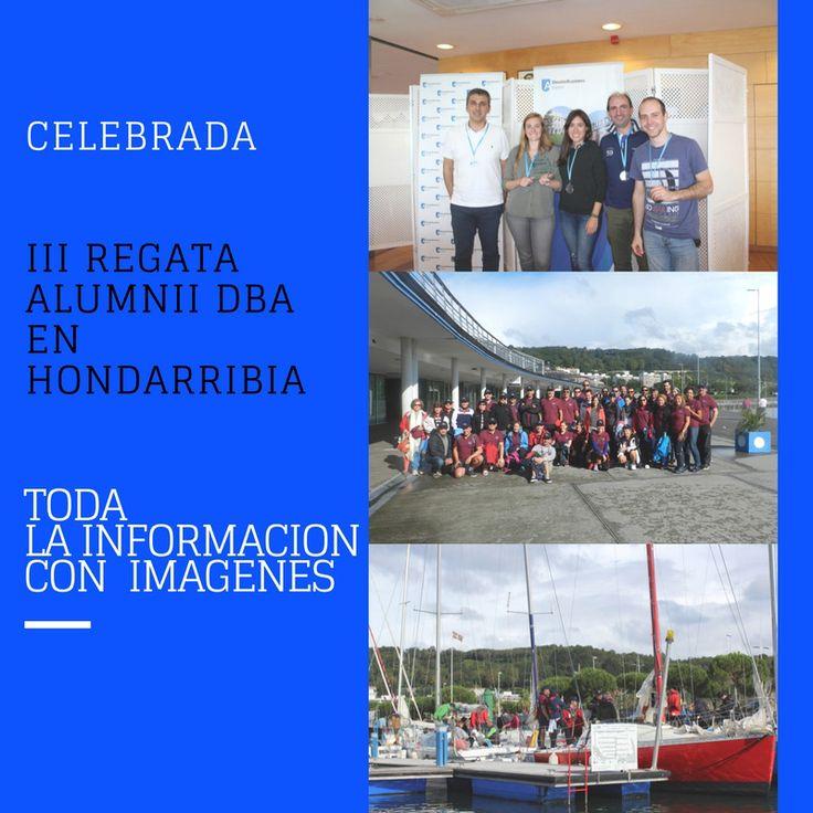El sábado 16 de septiembre de 2017, se celebró en Hondarribia la III Regata Alumni DBA. Un total de ocho embarcaciones Fígaro, con la tripulación compuesta por asociados de Deusto Business Alumni - Alumni DBA.  La jornada comenzó a las 10.00 horas en las instalaciones del Club Naútico de Hondarribia, con las explicaciones de cómo iba a desarrollarse la prueba y presentación de los patrones a las diferentes tripulaciones. Después los diferentes grupos se dirigieron hacia las embarcaciones.
