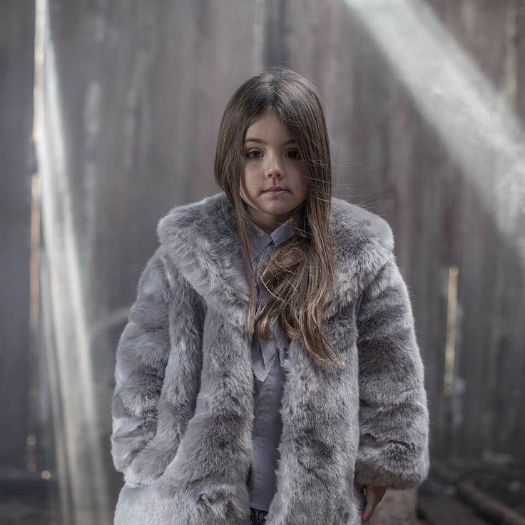 Stella McCartney Kids Colorblocked Faux Fur Coat Reviews