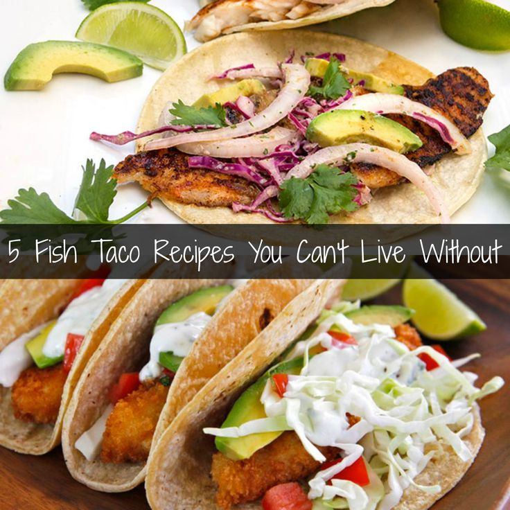 214 best all things seafood images on pinterest easy for Best fish taco recipe