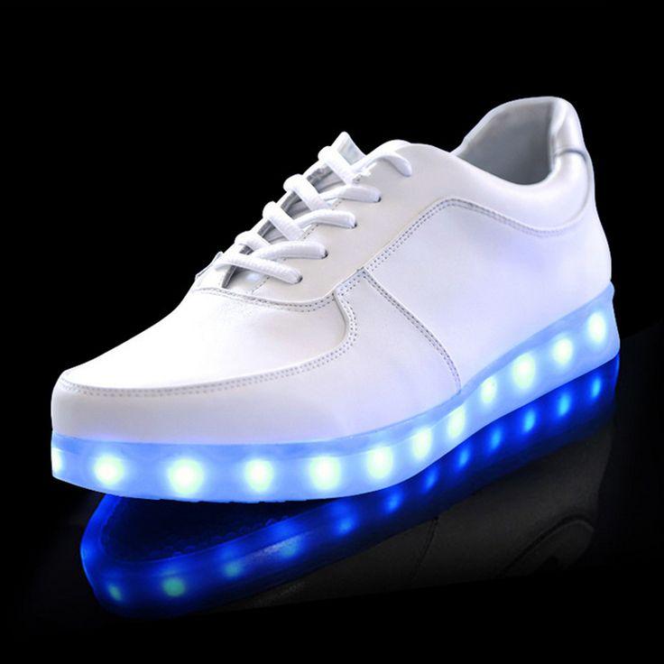 Pas Cher Nouvelles Chaussures Simulation Led Chaussures