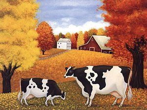 Cows by Lowell Herrero