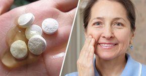 Jak mieć twarz bez zmarszczek w wieku 60 lat? 3 przepisy na maseczki z aspiryny, które musisz zacząć stosować!