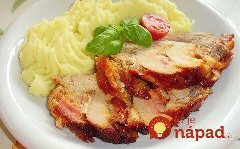 Úplne fantastické prekladané mäsko: Urobte pár zárezov, naplňte a máte perfektný nedeľný obed!