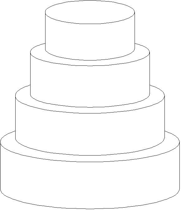 3 tier wedding cake outline 1000 images about templates for cake design on 10287