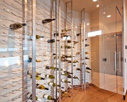 Park City Showcase Home 2012, Contemporary Wine Cellar, Salt Lake City