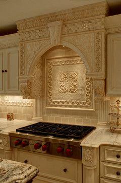Inlay Ideas For Backsplash Kitchen Pinterest Stove The Shape And Luxury Kitchens