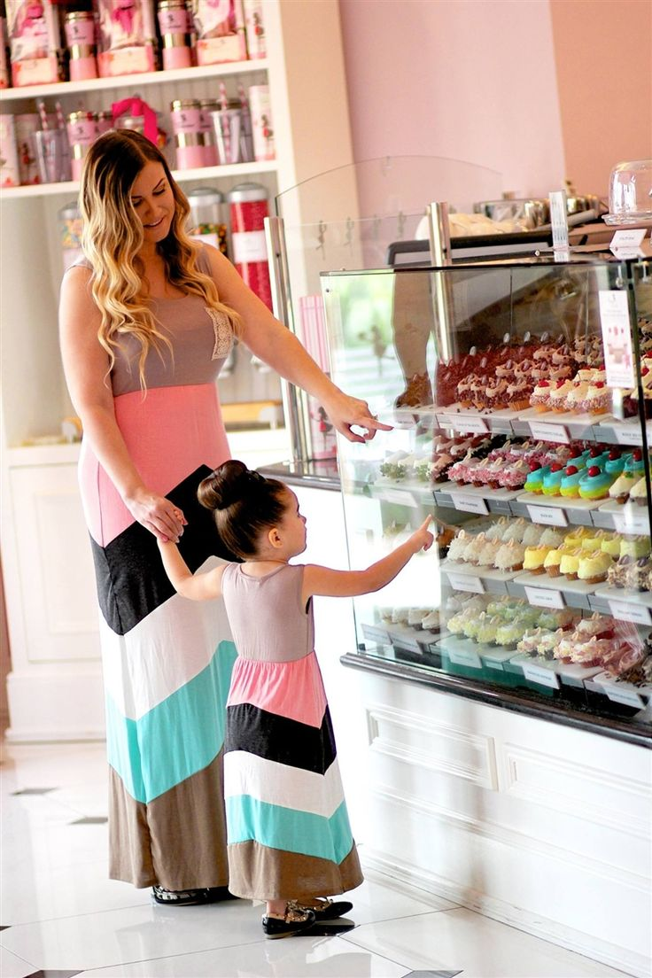 Delightfully Sweet Maxi Dress - this site offers matching mommy-daughter clothing! too cute!!!