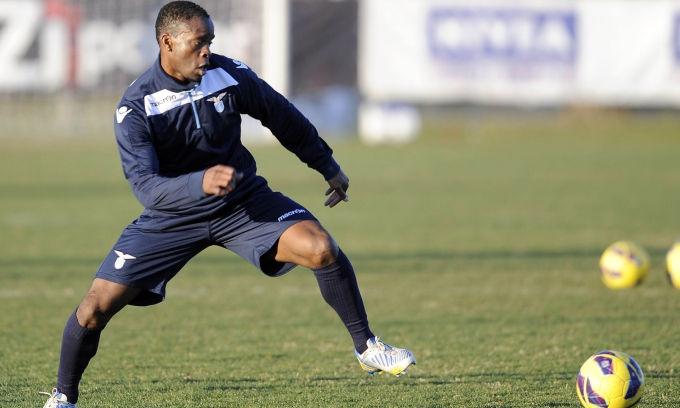 Saha, primo allenamento con la Lazio