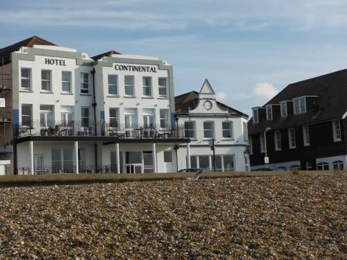 Hotel Continental Whitstable Just across the road from the beach, Hotel Continental offers well-appointed rooms around 10 minutes? walk from Whitstable?s characterful town centre.