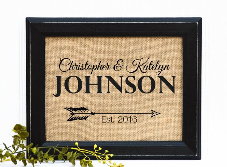 Framed Wedding Gift, Housewarming Gift, Newlywed Gift, Arrow Decor, Gift for new couple, New Home, Unique gift for wedding, Gift for wife, by BlessedHomesteadShop on Etsy