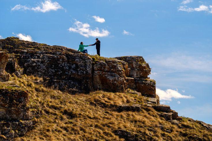 Фотографии скалы Три пещеры, Чиров лог, весна 2017