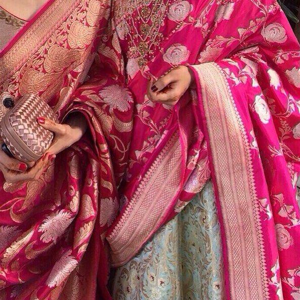 Arent they gorgeous?? Benarasi Dupattas!!