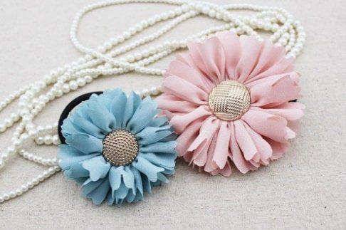 Relasé: Come fare dei fiori decorativi di stoffa? - tutorial