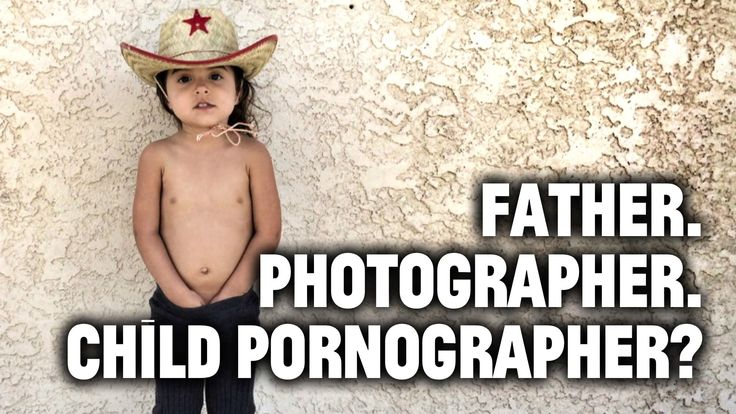 Father. Photographer. Child Pornographer?  Not judging him, but I wouldn't put naked pictures of my child/ren up on the internet.
