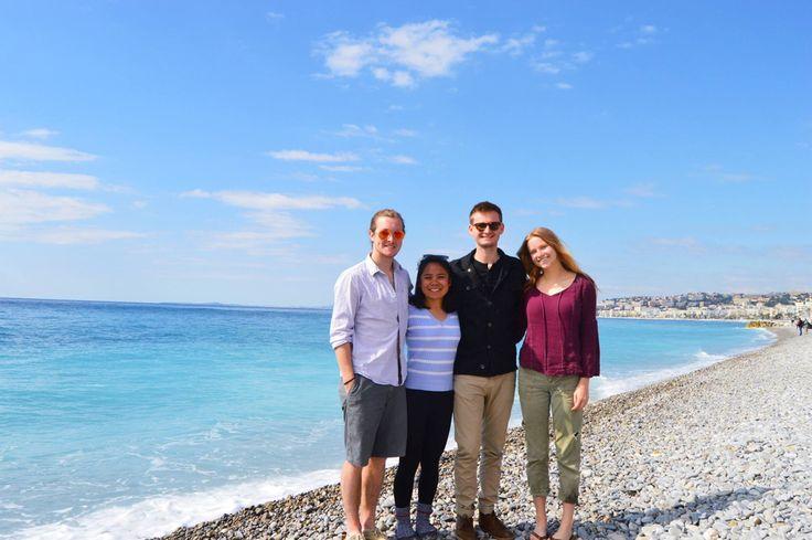 Krystian, Me, Kyle, Amanda in Nice, FR (Source: Amanda Brown) - April 2015