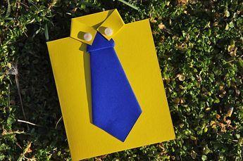 Ecco come realizzare in pochi passi un biglietto origami con uno dei simboli più classici della festa del papà: una camicia con la