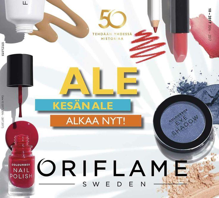http://beautystore.oriflame.fi/PAULANARVA jakso 10 kesän ale alkaa
