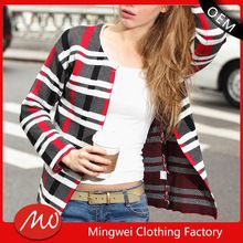 2015 high quality vertical stripe women long sleeve sweater cardigan  Best Buy follow this link http://shopingayo.space