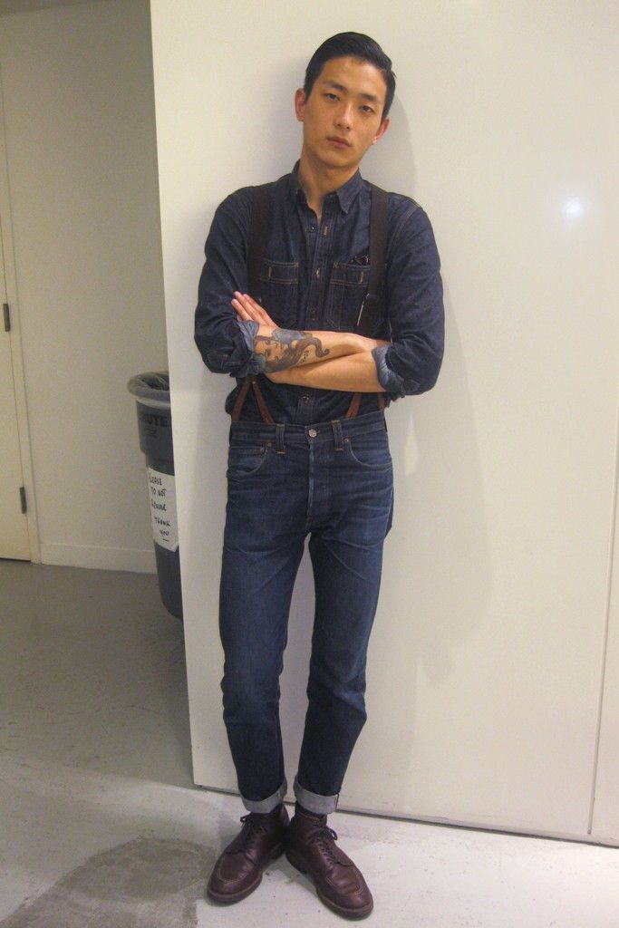 Denim on denim / Sung Jin Park