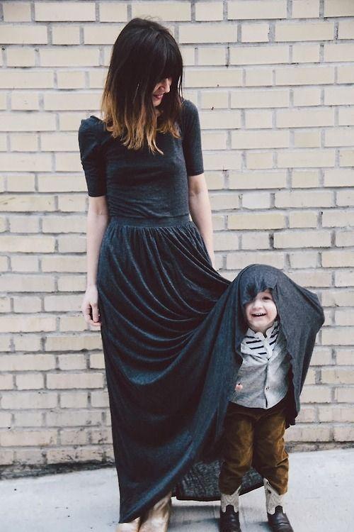 Dress + cuteness!