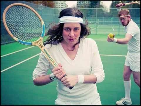 Tennis is my favorite sport.  I also wear sweatbands.  Bonus, this song rocks.