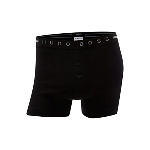 (ヒューゴ ボス) メンズ インナー ボクサーパンツ Hugo Boss Button fly underwear boxer 並行輸入品  新品【取り寄せ商品のため、お届けまでに2週間前後かかります。】 表示サイズ表はすべて【参考サイズ】です。ご不明点はお問合せ下さい。 カラー:Black